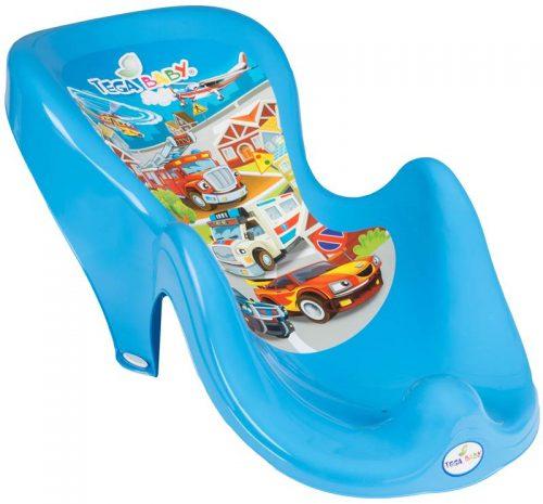 Fotelik do kąpieli dla niemowląt Tega kolekcja Auta Niebieski