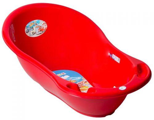 Wanienka Auta mała z termometrem 86cm, Tega Czerwony