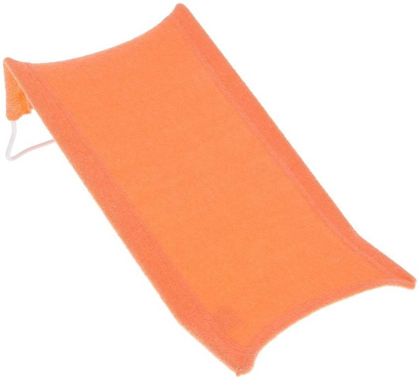 Leżaczek do kąpiel wysoki fortte z gruby Tega Baby Pomarańczowy