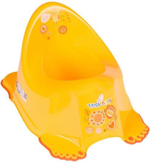 Nocnik antypoślizgowy dla dzieci kolekcja Folk Tega baby Żółty