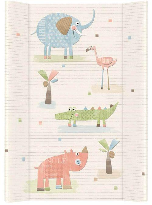Nadstawka krótka bez zagłówka przewijak 70x50 cm Ceba Baby Gang słonia ecru