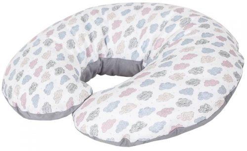 Cebuszka mini dżersej Ceba Baby poduszka do karmienia Chmurki