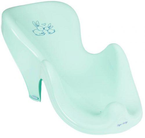 Fotelik do kąpieli leżaczek Tega Baby Króliczek Miętowy