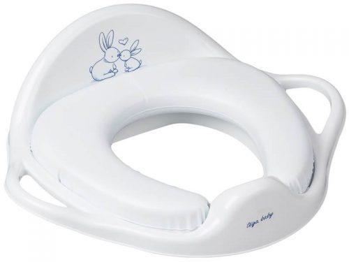 Tega Baby nakładka sedesowa miękka - króliczek Biały