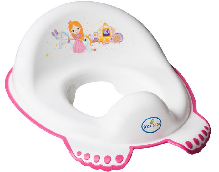 Nakładka antypoślizgowa na sedes wc Księżniczka Tega Baby Biały