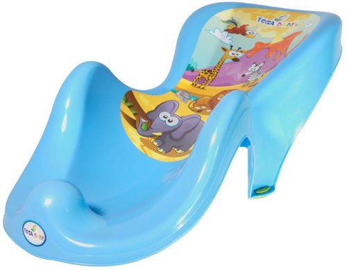 Fotelik do kąpieli Tega Baby z kolekcji Safari Niebieski
