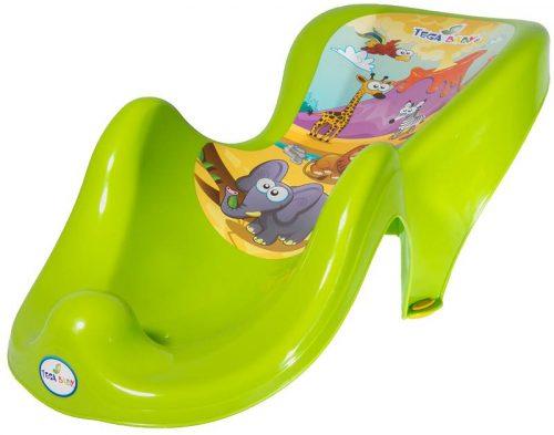 Fotelik do kąpieli Tega Baby z kolekcji Safari Zielony