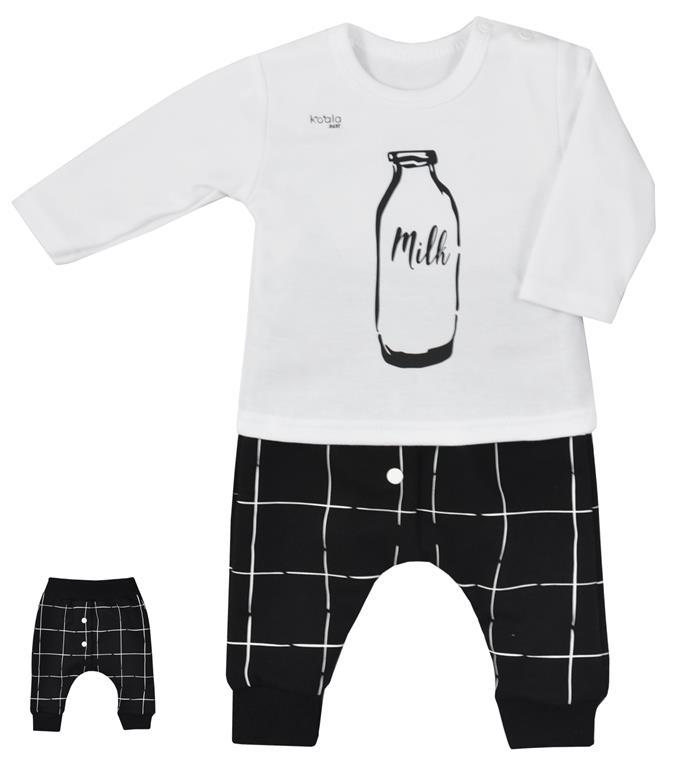 Koala baby bluzeczka + spodenki milk 62