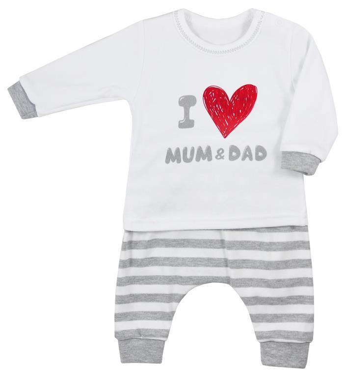 Koala baby bluzeczka + spodenki bawełniane mum & dad 62