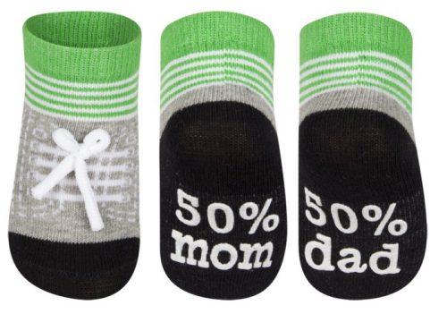 Soxo - skarpety bawełniana dziczęce Mama Tata 16-18
