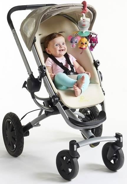 Podróżna karuzela do łóżeczka, fotelika, wózka -  Świat Małej Księzniczki Tiny Love