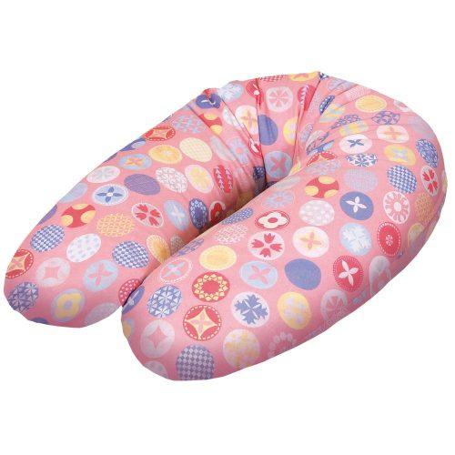 Wielofunkcyjna poduszka do karmienia Physio Multi Dżersej, Ceba Kółka różowe