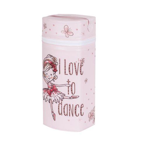 Termoopakowanie Jumbo Ceba Baby na wszystkie rodzaje butelek Baletnica różowa