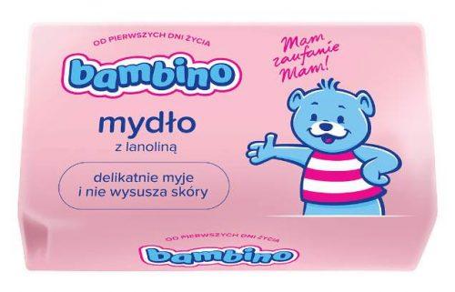 Mydło toaletowe Bambino dla dzieci i niemowląt delikatnie myje i pielęgnuje 90 g