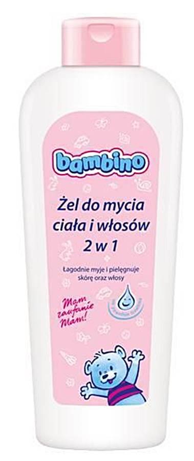 Żel do mycia ciała i włosów 2w1 400Ml Bambino