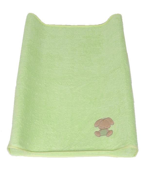 Pokrowiec na przewijak 50x70 cm Ceba Baby z frotki bawełnianej Zabawki zielone