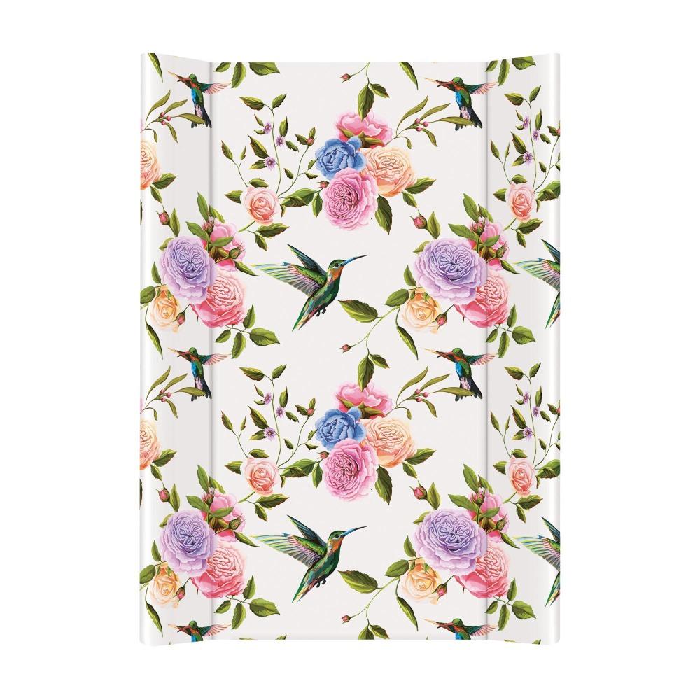 Nadstawka na łóżeczko 120x60  przewijak krótki 70 cm Ceba Baby Fauna i flora Flores