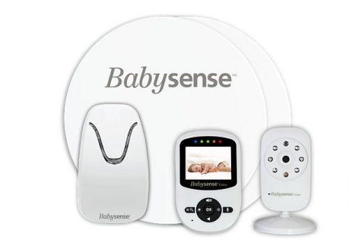 Monitor oddechu Babysense 5 z dwukierunkową nianią elektroniczą z atestem medycznym