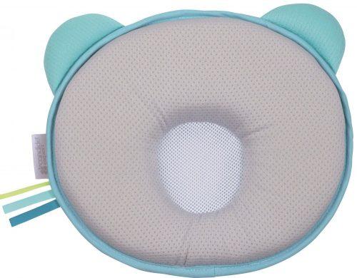 Poduszka dla maluszka Panda Air turkusowo-szara, Candide