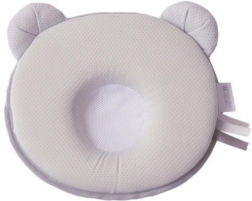 Poduszka dla maluszka Panda Air w kolorze szarym, Candide
