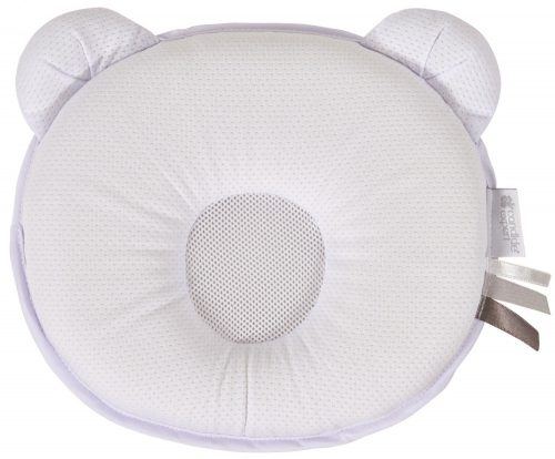 Poduszka dla maluszka Panda Air w kolorze białym Candide