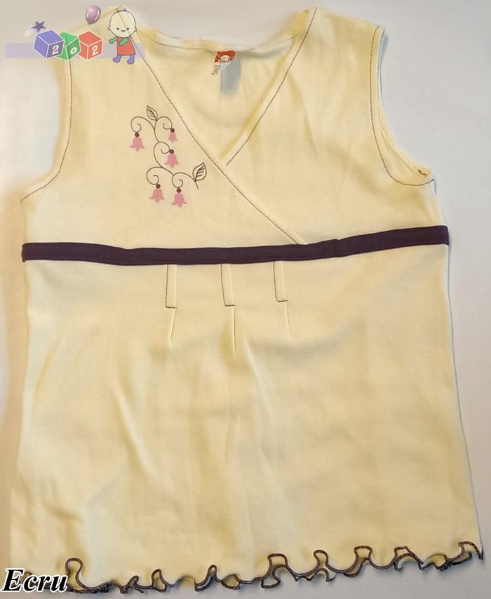 Bluzeczka dziewczęca bez rękawków 2be3 rozm. 62