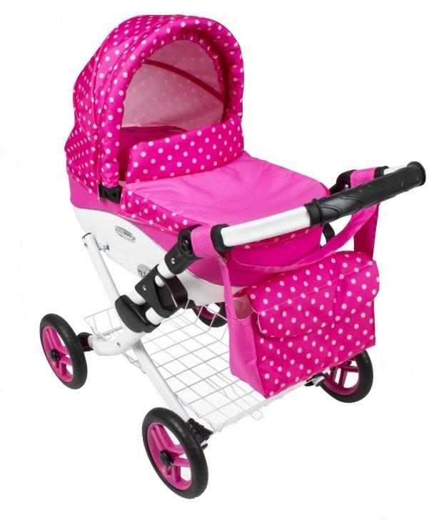 Wózek lalkowy Lily z plastikową gondolą K09