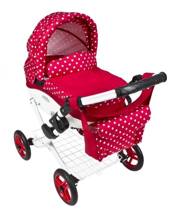 Wózek lalkowy Lily z plastikową gondolą K12