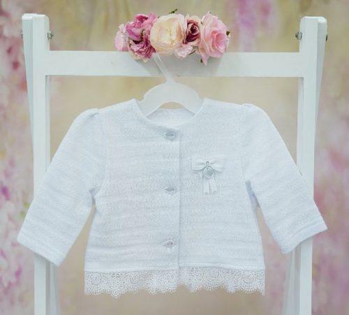 Ubranie do chrztu Sweterek Nel 80