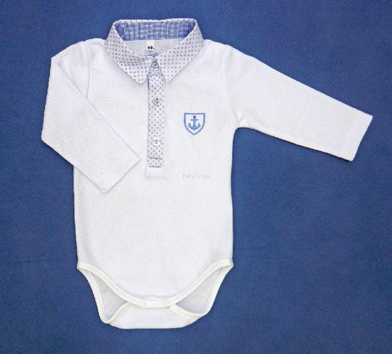 Ubranie do chrztu Koszula-body Sternik 80