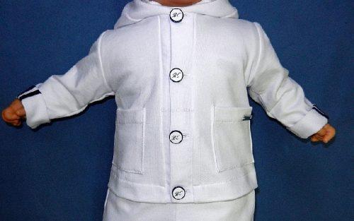 Ubranie do chrztu Kurtka Niku 56