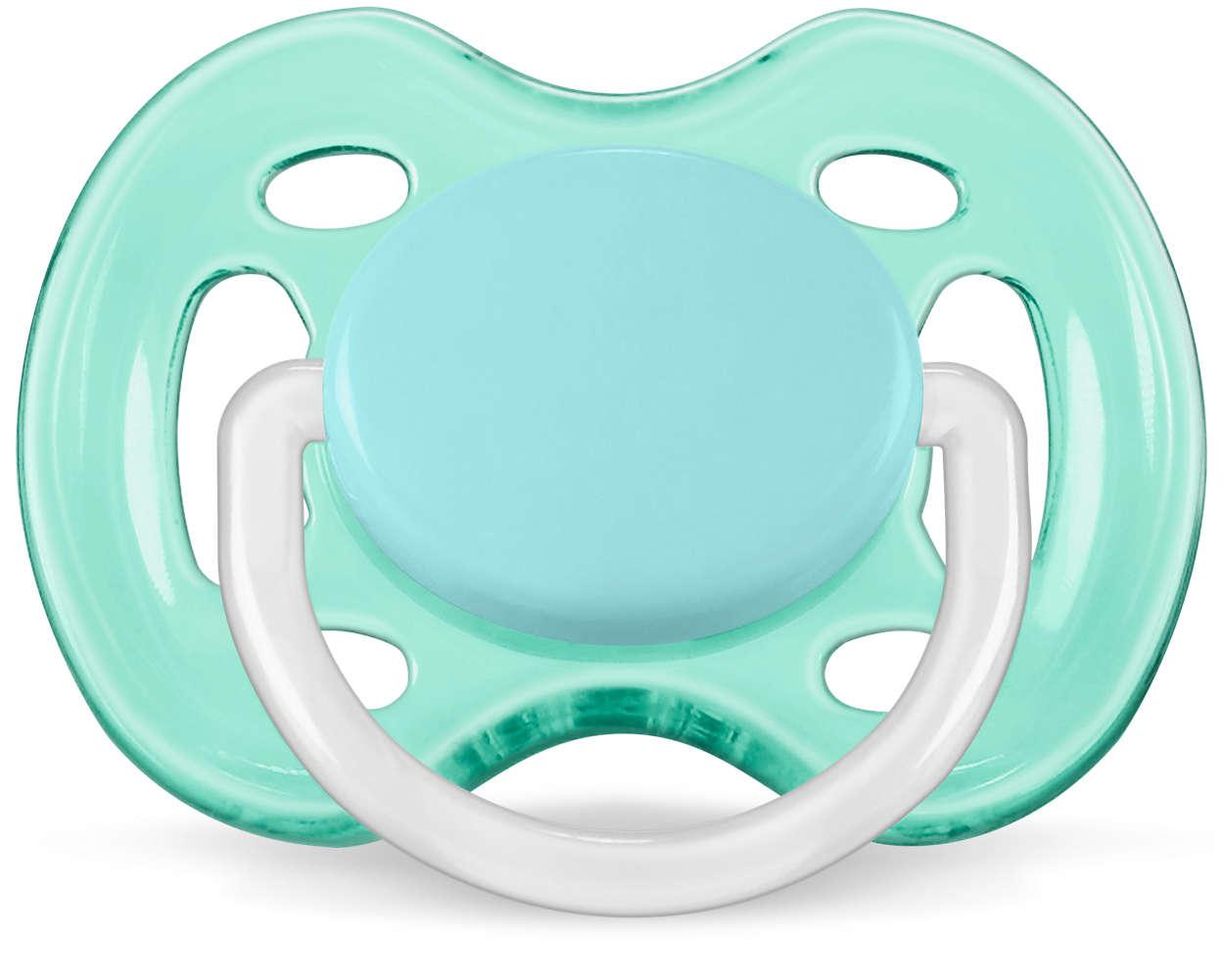 Avent Uspokajający smoczek ortodontyczny Freeflow 0-6m SCF178/25