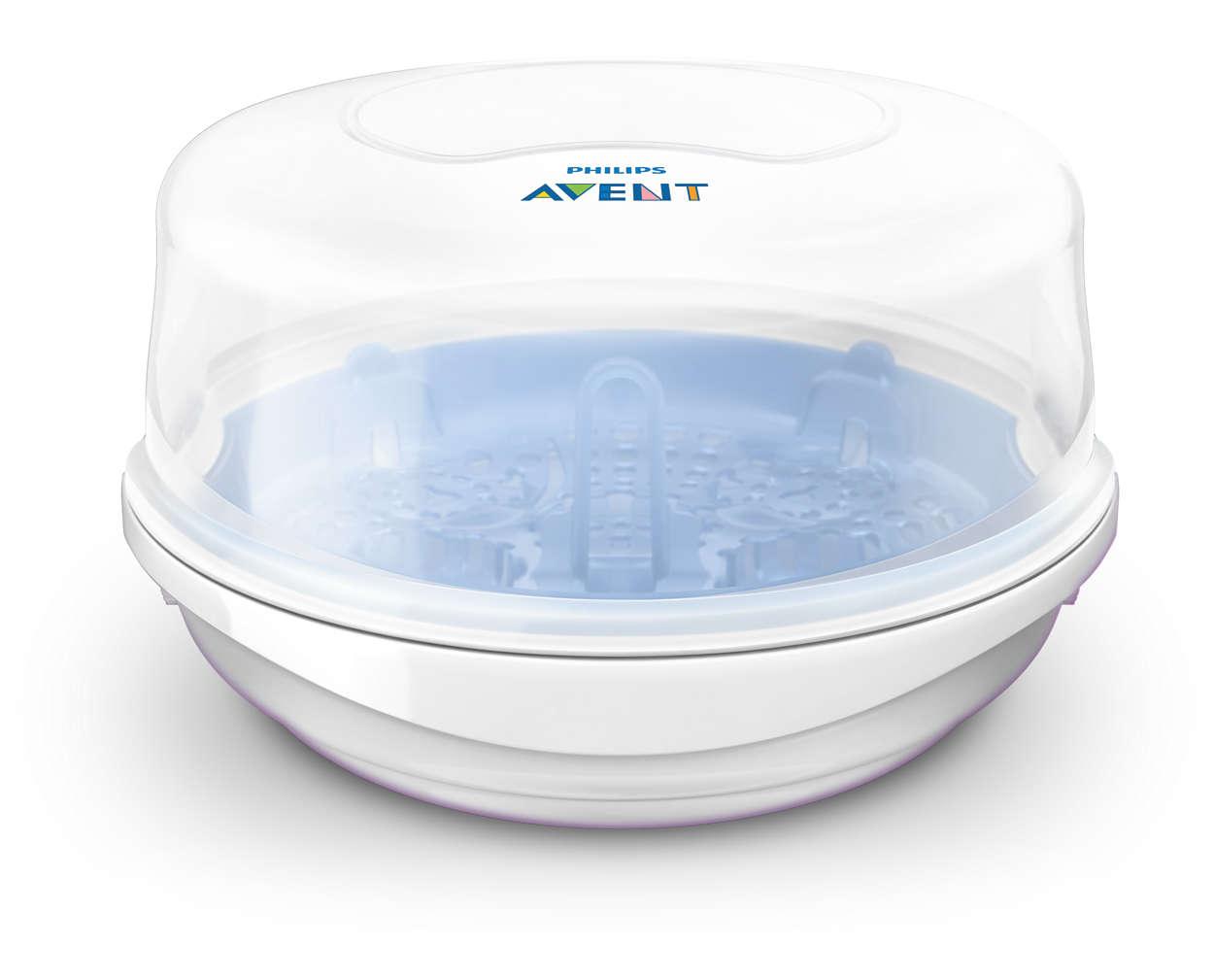 Mikrofalowy sterylizator parowy Avent SCF281/02