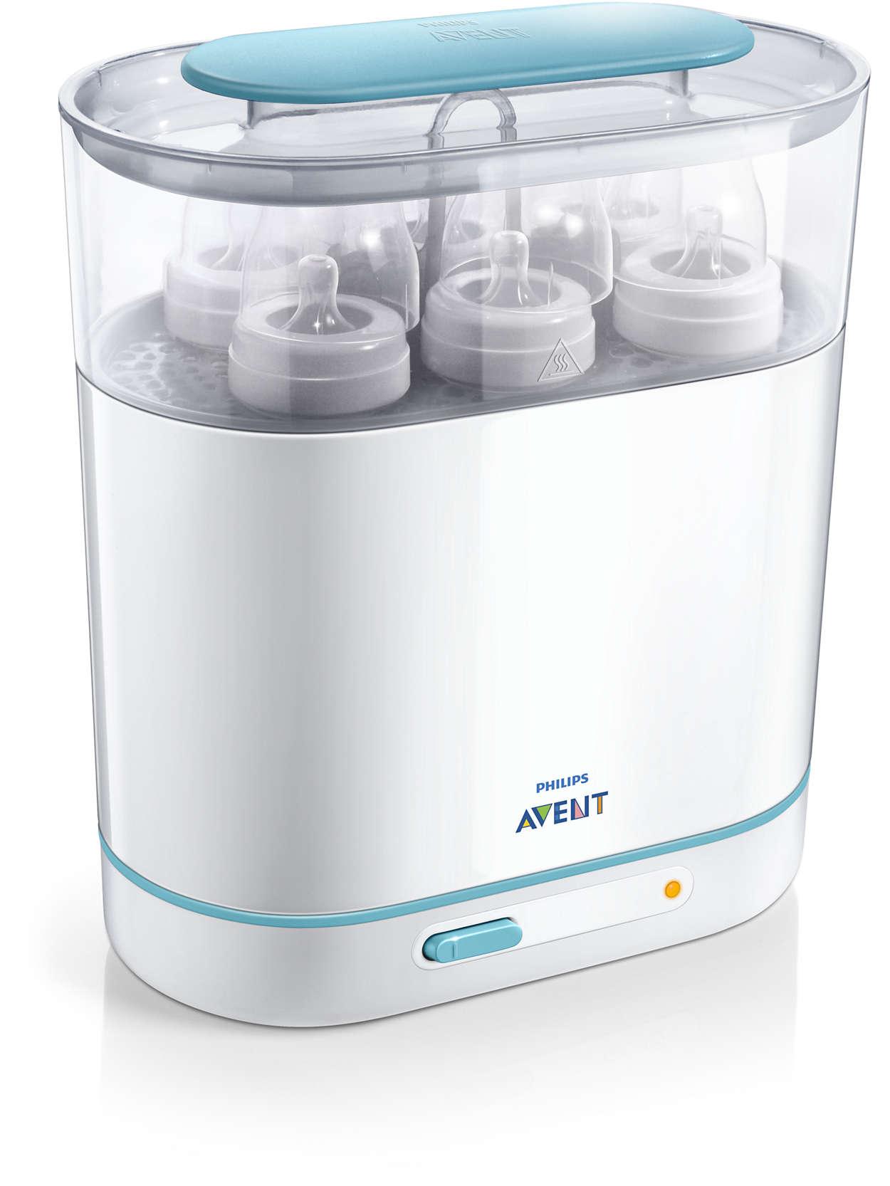 Elektroniczny sterylizator parowy Avent 3w1 SCF284/03