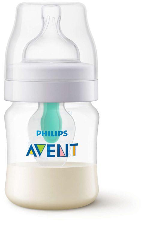 Butelka antykolkowa z nakładką AirFree Avent 125 ml SCF810/14