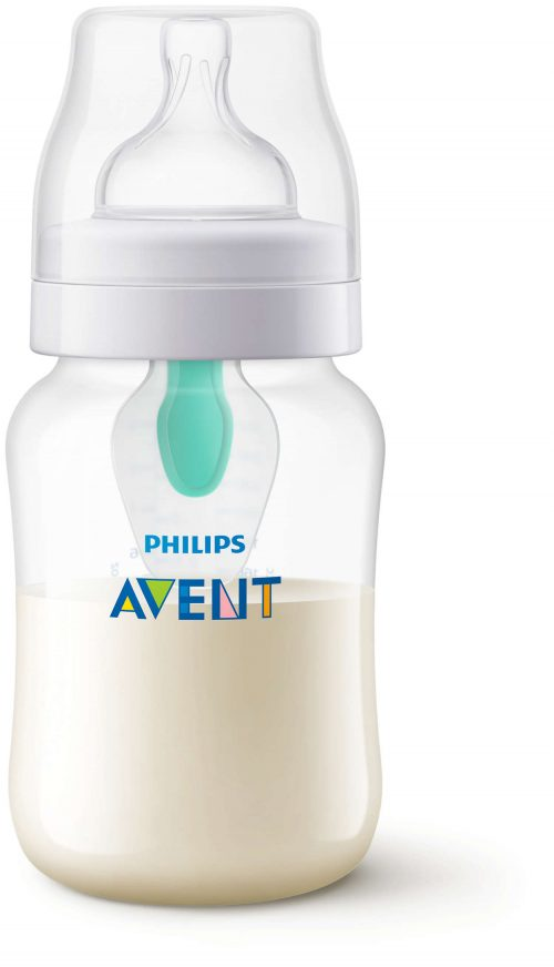 Butelka antykolkowa z nakładką AirFree 260 ml Avent SCF813/14