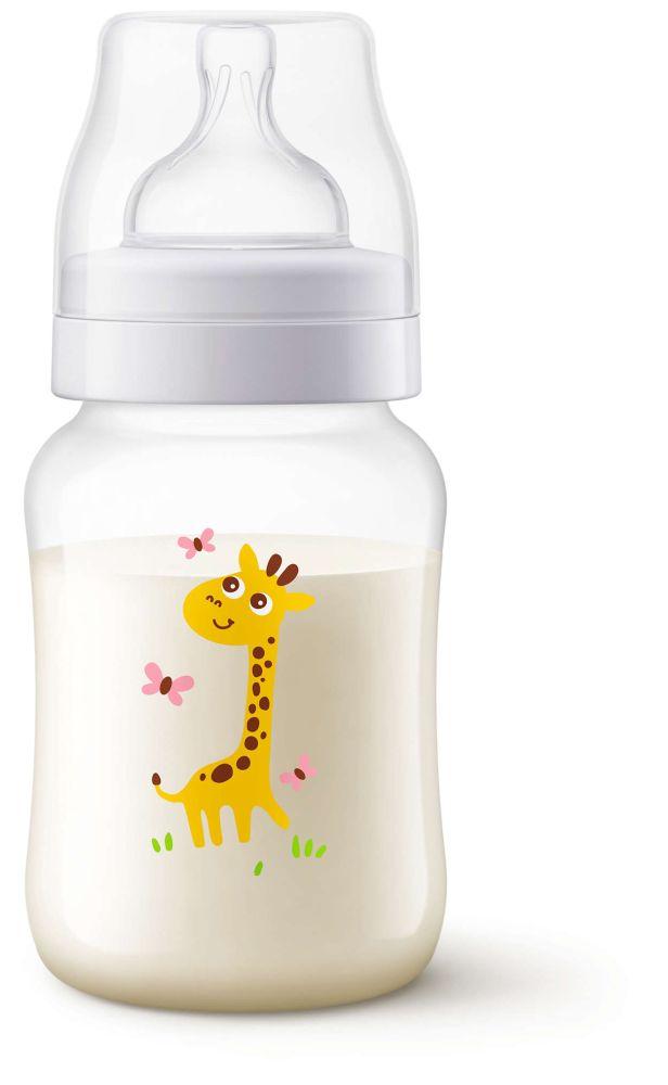 Butelka do karmienia Avent Classic 260 ml Żyrafa SCF574/12