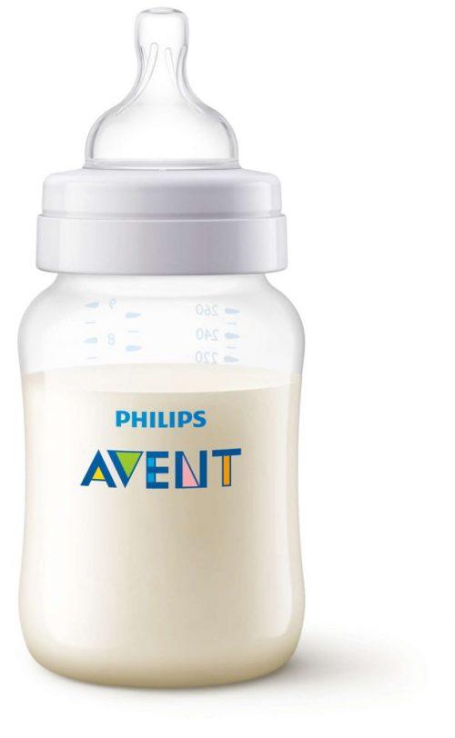 Butelka Avent do karmienia niemowląt i dzieci 260 ml  SCF563/17 Classic + smoczek 1m+