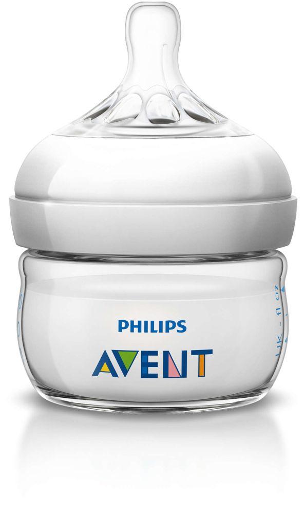 Avent Butelka Natural do karmienia dla noworodków 60 ml SCF699/17