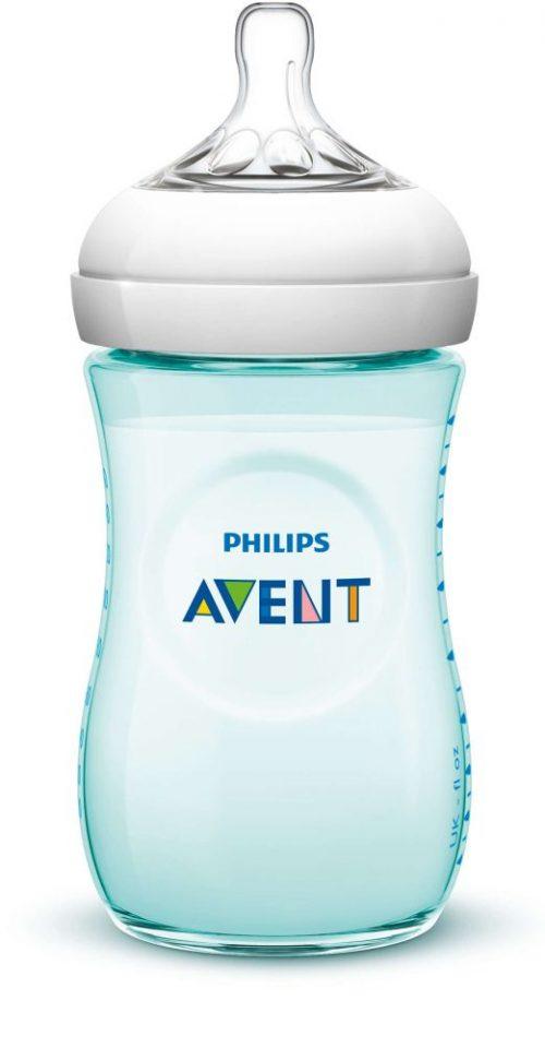 Avent Butelka do karmienia Natural 260 ml Niebieska SCF693/15