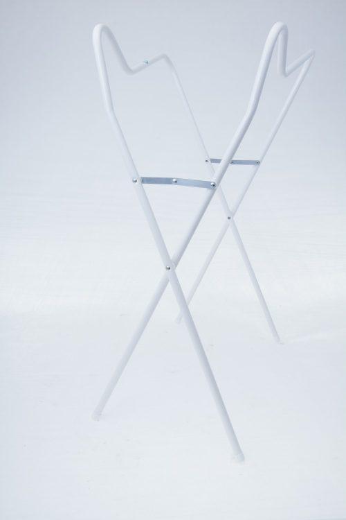 Stojak pod wanienkę 102 cm srebro Tega Baby Biały