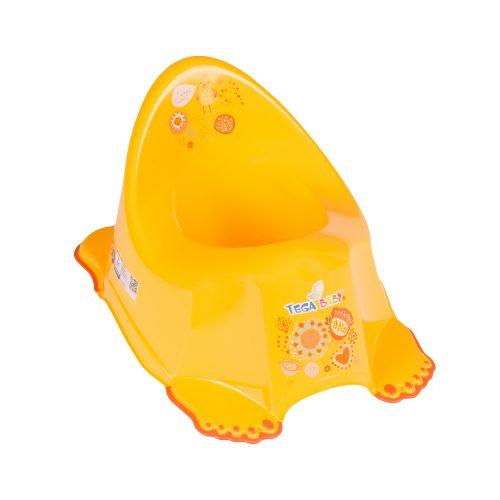Nocnik antypoślizgowy dla dzieci kolekcja Folk Tega baby Pomarańczowy