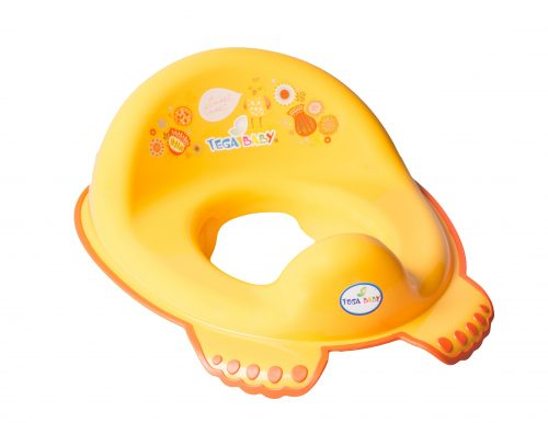 Nakładka antypoślizgowa na sedes dla dzieci Folk Tega Baby Pomarańczowy