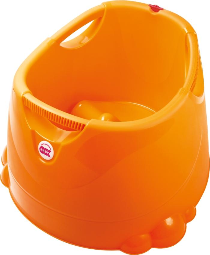 Wanienka z termometrem wanienka dla dzieci i niemowląt Opla Tega Baby Pomarańczowy