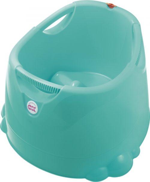Wanienka z termometrem wanienka dla dzieci i niemowląt Opla Tega Baby Turkusowy