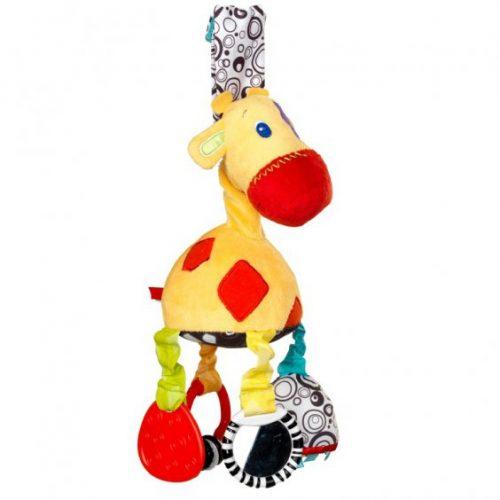 Pluszowa  zawieszka do wózka i fotelika żyrafka Bright Starts