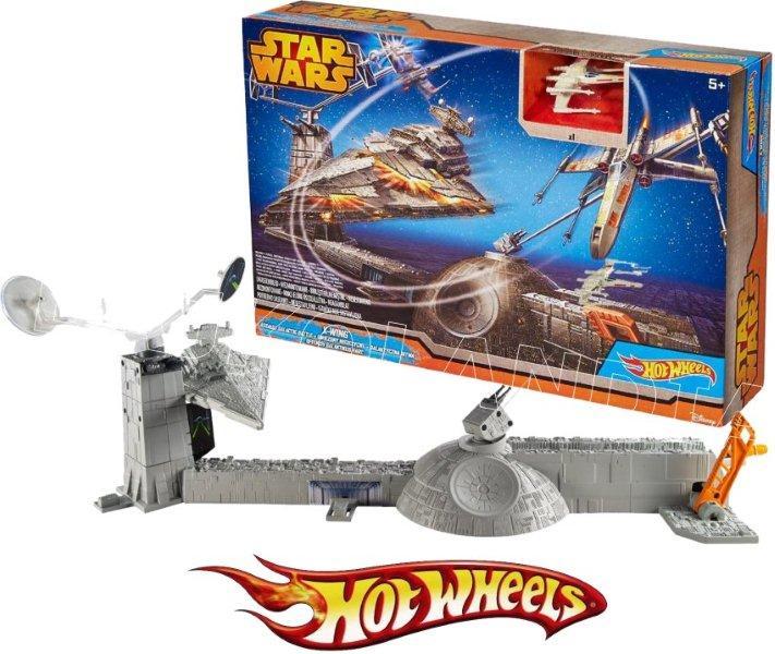 Gwiezdny zestaw tor Hot Wheels Gwiezdny niszczyciel CGN30