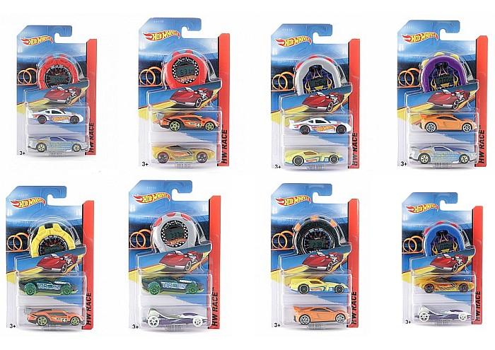 Hot Wheels Asy Prędkości samochodziki Mix G2960