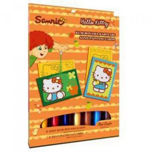 Kolorowy piasek - Piaskowe obrazk Sanrio - Hello Kitty