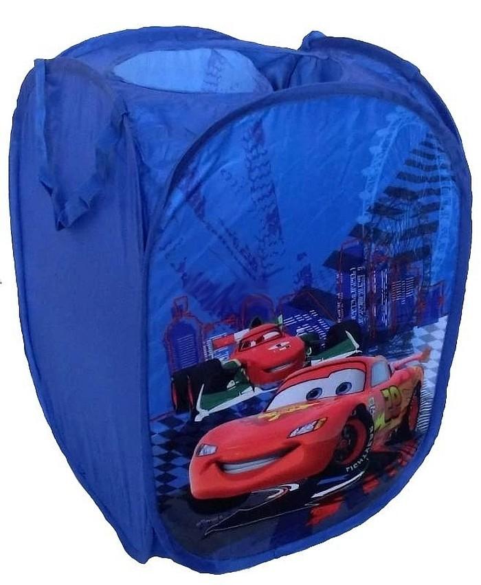 Disney składany kosz na zabawki Pop Up Cars Mc Quin 35x35x51